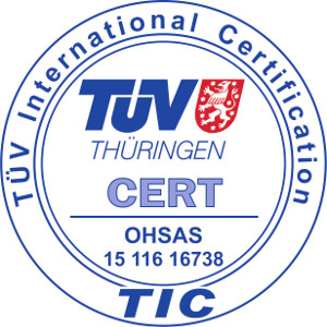 OHSAS - TUV international certification